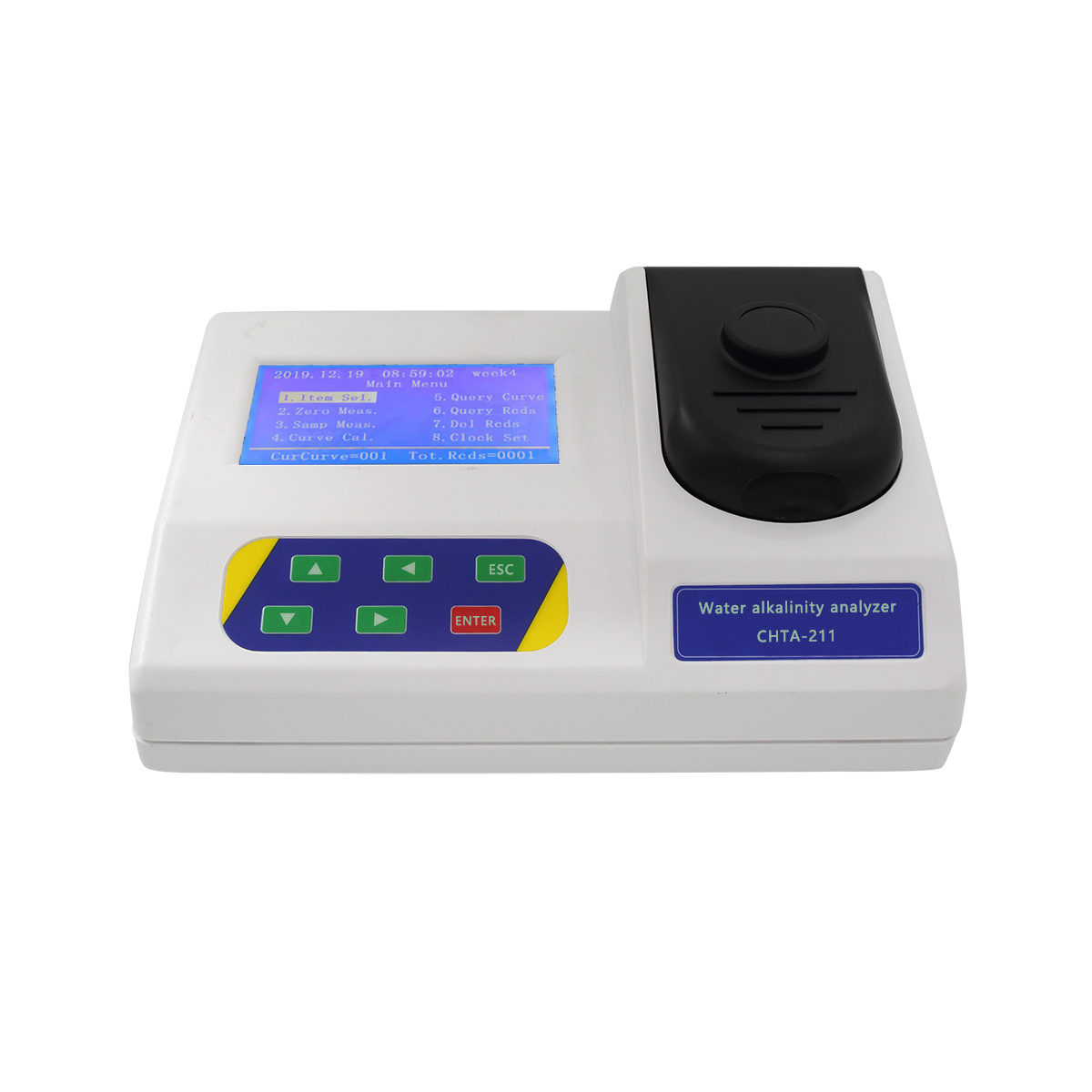 Water alkalinity analyzer (desktop)